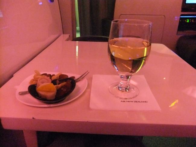 機内ワイン
