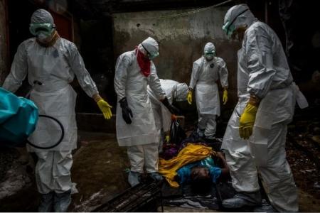 羽田でエボラ感染が疑われたジャーナリストの取材写真