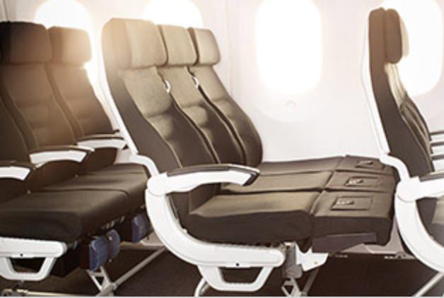 スカイカウチ ニュージーランド航空エコノミークラス