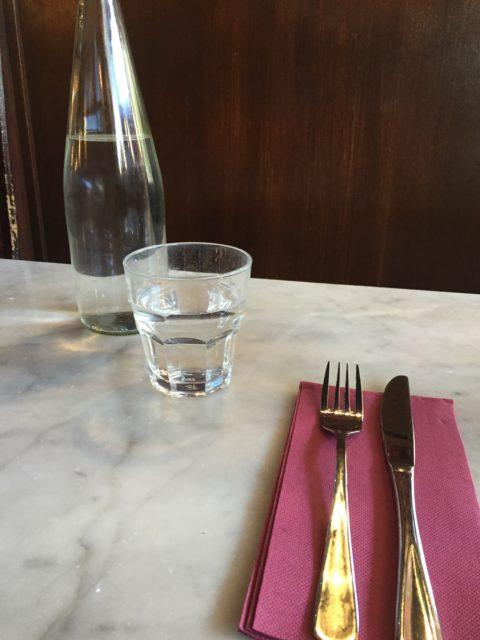 Tony's テーブルセッティング