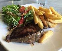 Tony's Steak & Seafoodの $10 Lunch ランプステーキ