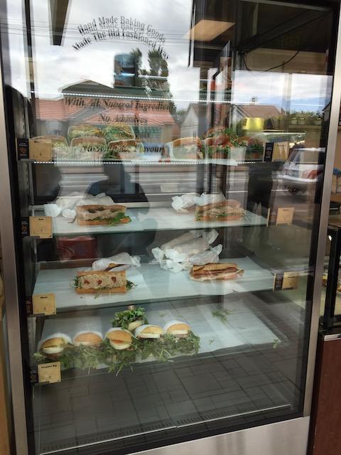 french bakery showcase