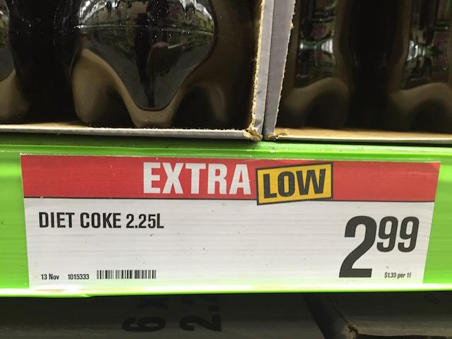 diet coke 1.5L price