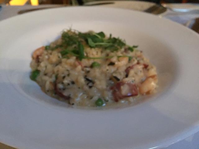 vivace chorizo&shrimp risot