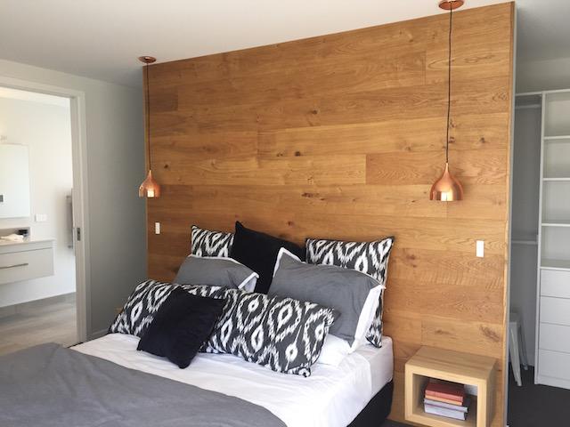 一戸建ての寝室