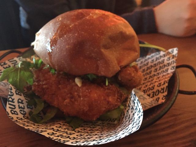 burger burger NM fish burger
