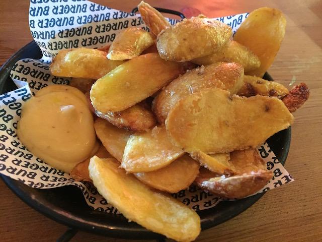 burger burger NM potato skin