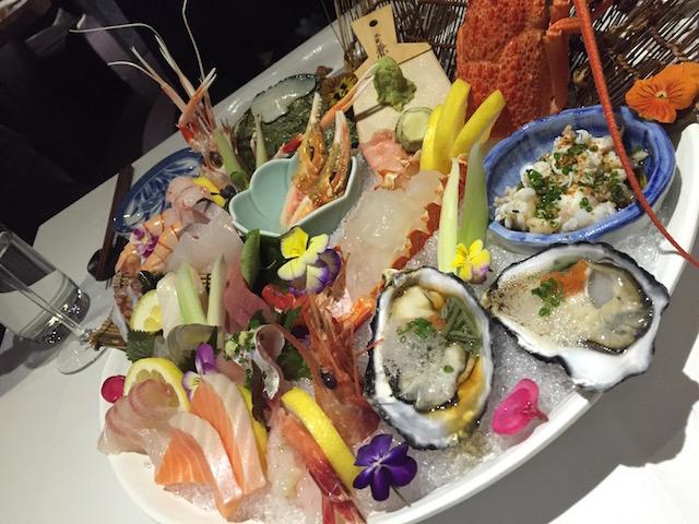 cocoro sashimi platter