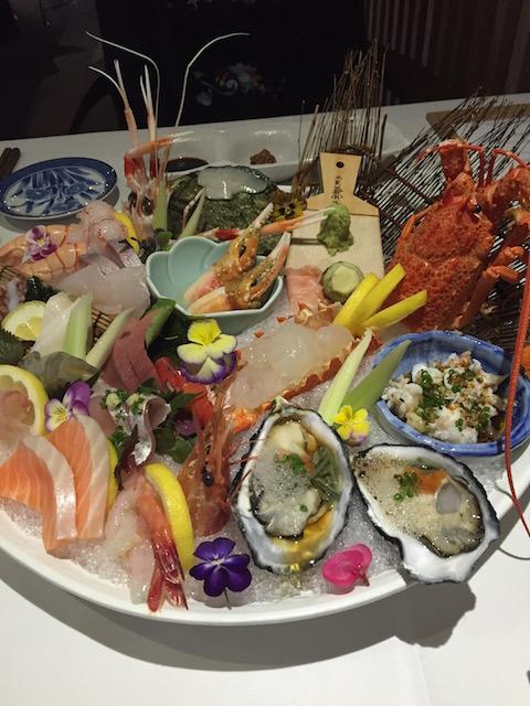 cocoro sashimi platter2