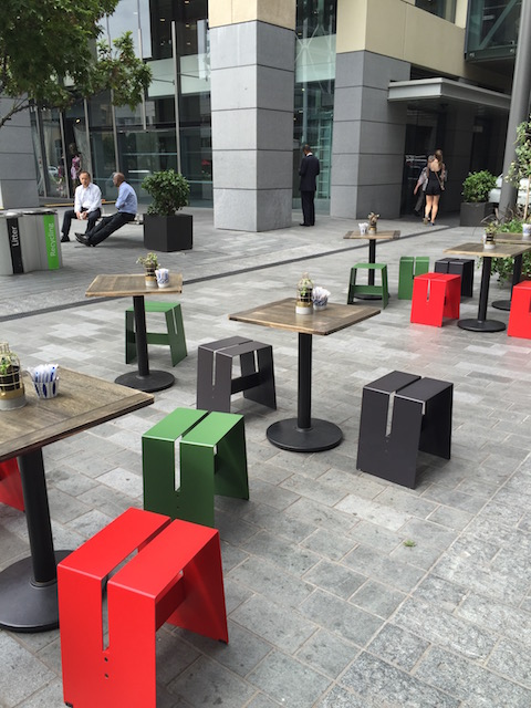 miann britomart outdoor seating