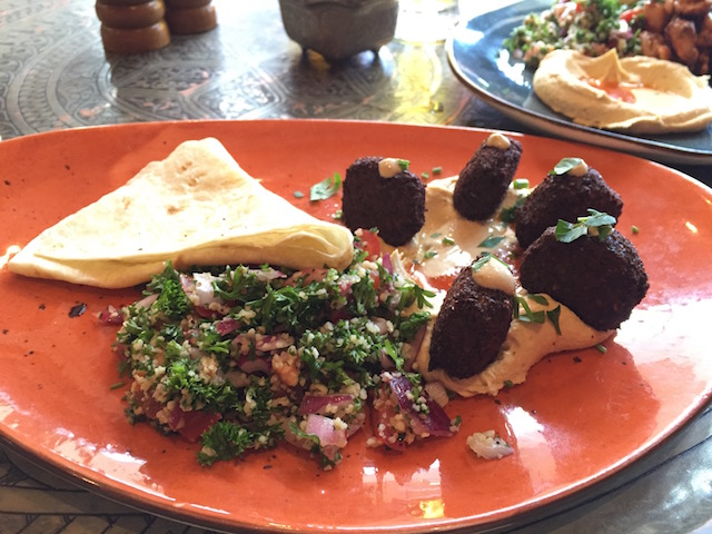 orewa casasblanca lunch plate vege