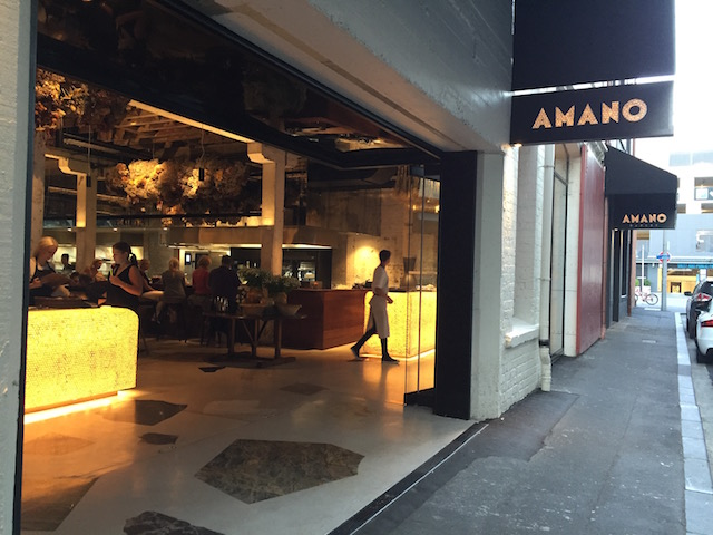 amano bakery entrance