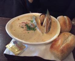 occidental seafood chowder