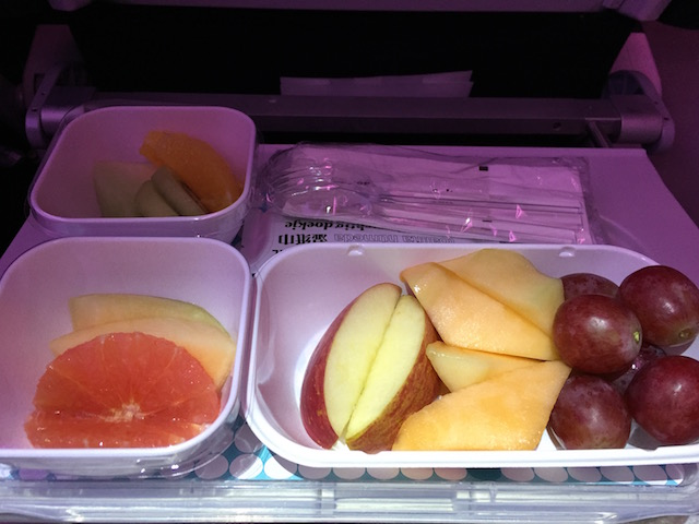 airnewzealand fruits meal