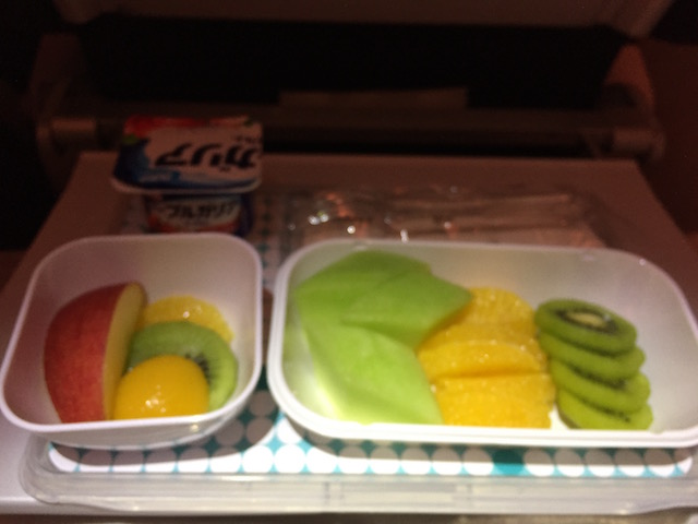 airnz fruits meal morning