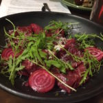 baduzzi tasting dinner beetroot pasta