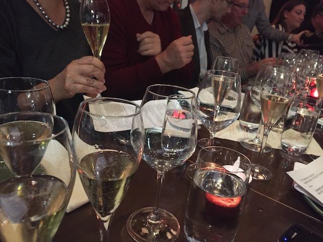 baduzzi tasting dinner table