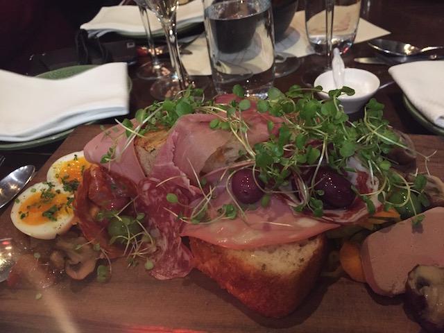baduzzi tasting dinner tasting plate