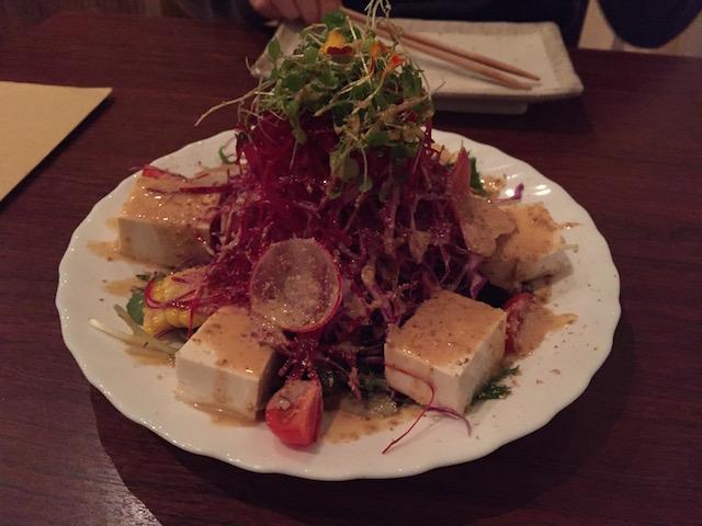 sake bar icco 201705 tofu salad