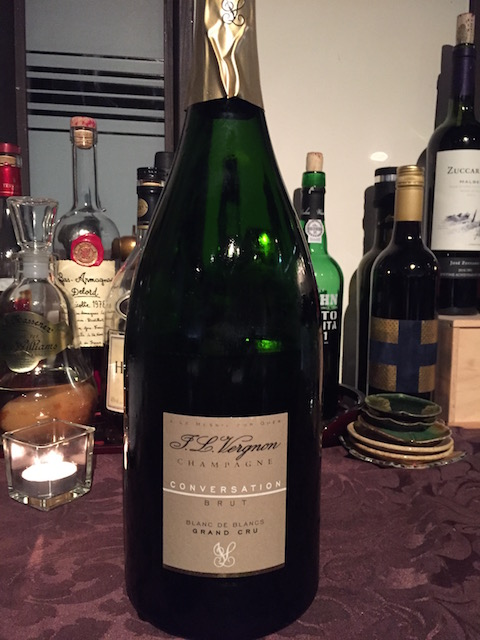 kazuya truffle dinner 201707 champagne