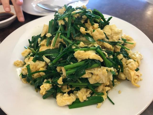 Mr zhou's dumplings 201710 fried egg&chives