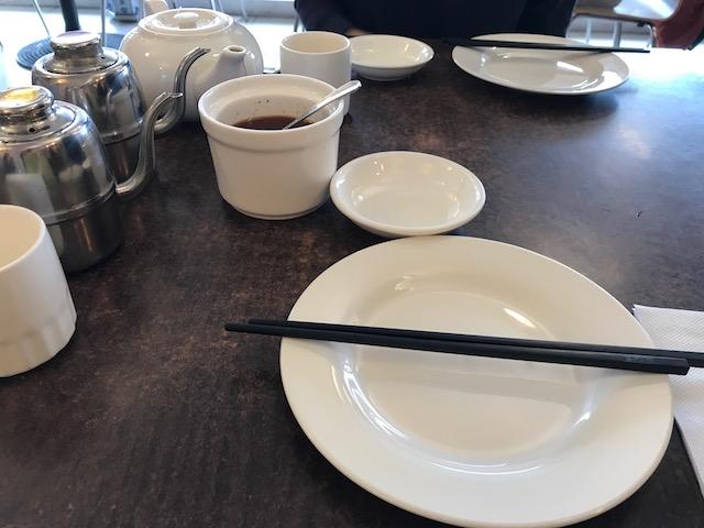 Mr zhou's dumplings 201710 table