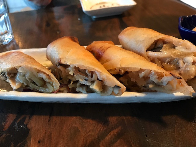 ramen takara ponsonby 201710 fried spring rolls