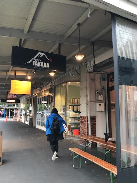 ramen takara ponsonby 201710 sign