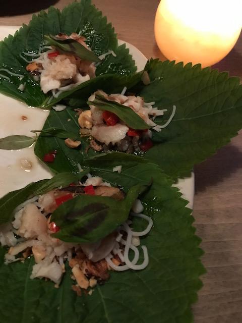 saan 201710 banana leaf&fish