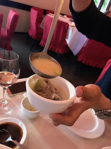 ダックのスープ