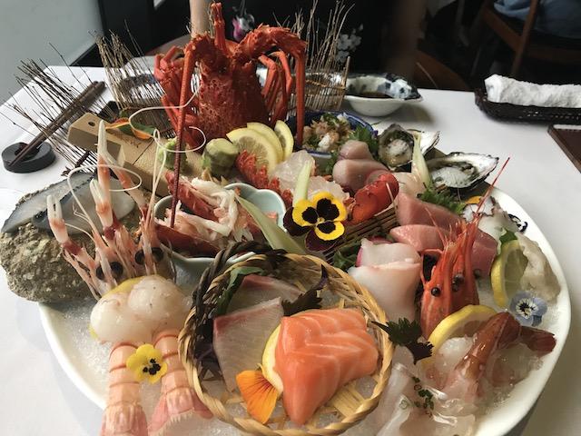 cocoro 201802 sashimi platter
