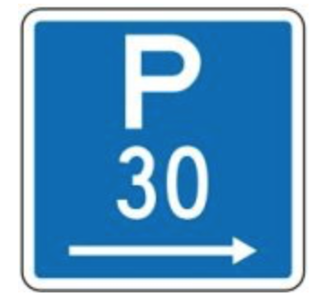 parking sign nz p30
