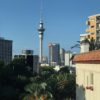 sky tower from st kevins arcade