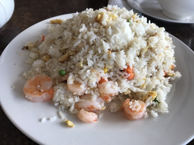 zhous dumplings 201802 prawn fried rice
