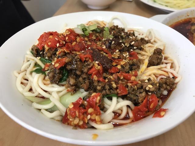 panda express noodle 201803-2 dan dan mien