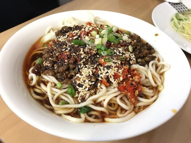 panda express noodle 201803 dandan mien