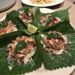 saan 201803 fish on leaves