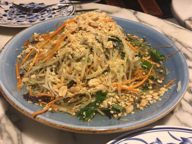 sen 201803 green papaya salad