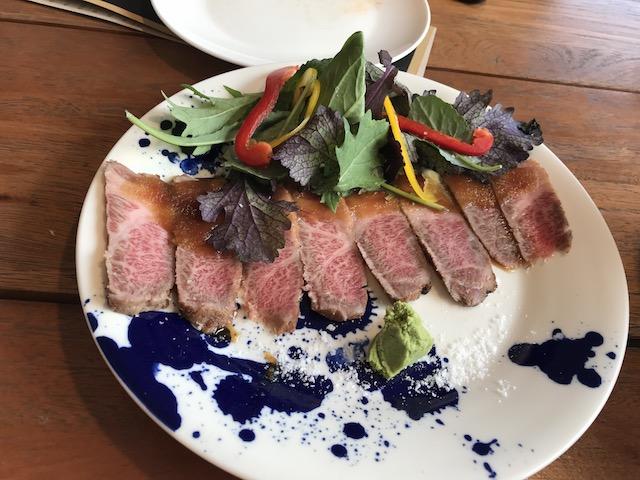 gyoza bar 201804 beef tataki