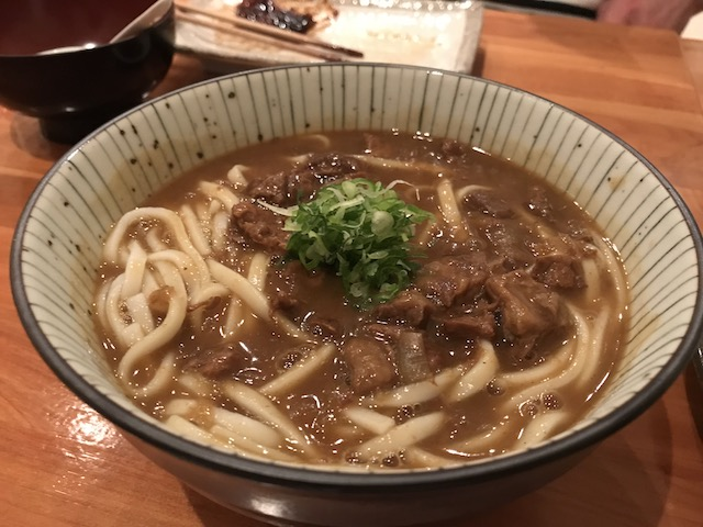 sake bar icco 201804 curry udon beef