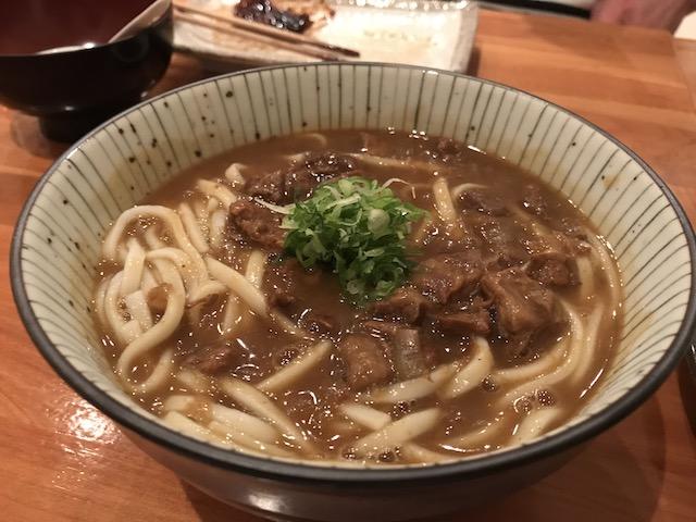 sake bar icco 201804 curry udon beef