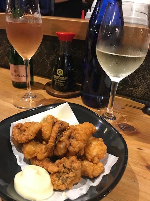 tokyo club 201804 crispy octopus