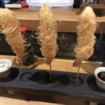 tokyo club 201804 prawn filo tempura