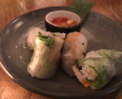cafe hanoi 201804 spring rolls