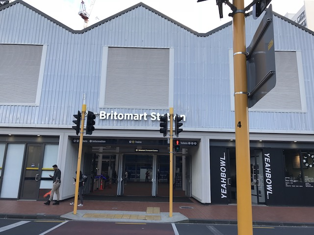 britomart station 201807 britomart side