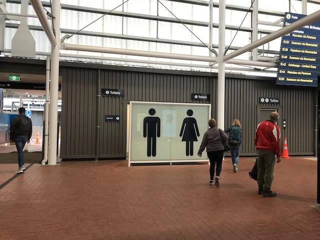 britomart station 201807 toilette
