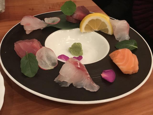 sake bar icco 201806 sashimi