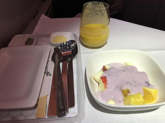 airnz 201810 breakfast