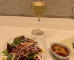 ana suite lounge 201810 salad