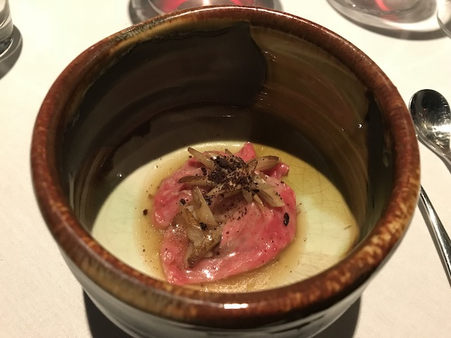 kazuya.folium201810 wagyu burdock risotto